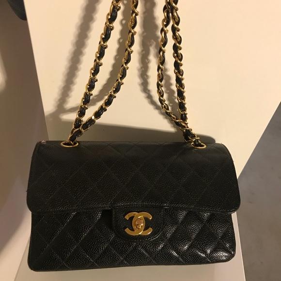 62ef68eab876 CHANEL Bags | Sold Classic Caviar Ghw Double Flap 255 | Poshmark